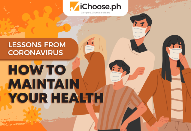 Lessons from Coronavirus How to Maintain Your Health featured image ichoose.ph